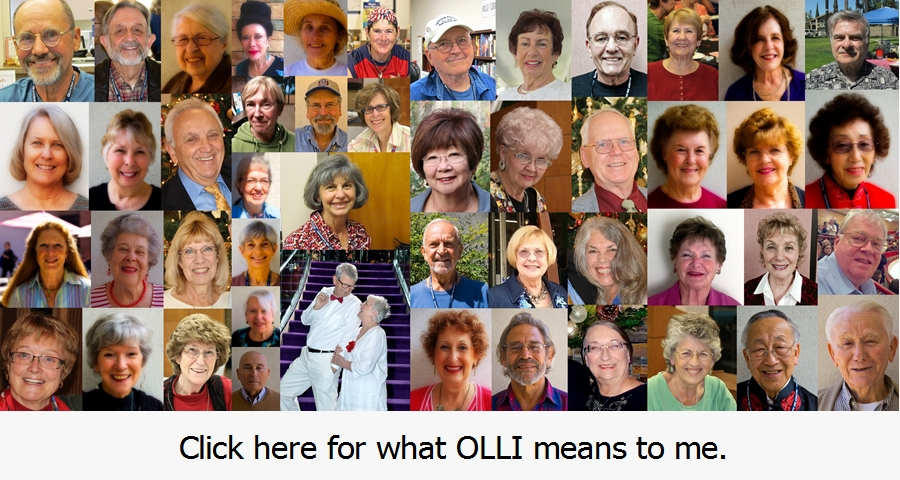 What OLLI Means to Me