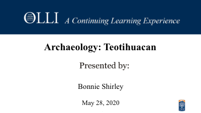 Click here to view Archaeology video.
