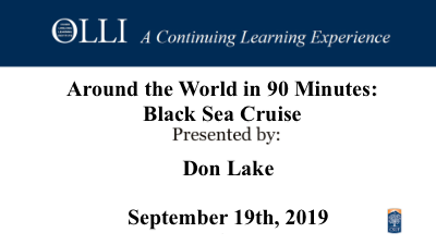 Click here to view Around the World Black Sea Cruise 09-19-2019 video.
