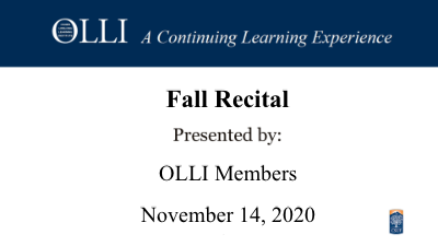 Click here to view Fall Recital 11-14-2020 video