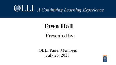Click here to view Town Hall.