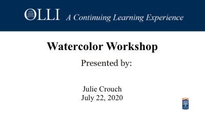 Click here to view Watercolor Workshop.