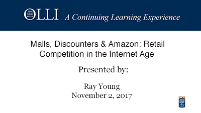 Malls, Discounters & Amazon: Retail Competition in the Inteernet Age