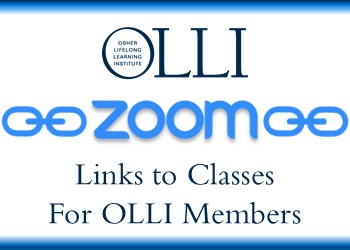 Zoom Links (OLLI members only)