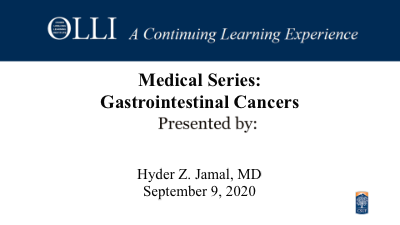 Click here to view Gastrointestinal Cancers.