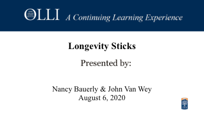Click here to view Longevity Stick video.