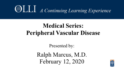 Click here to view Peripheral Vascular Disease 2020-02-18 video