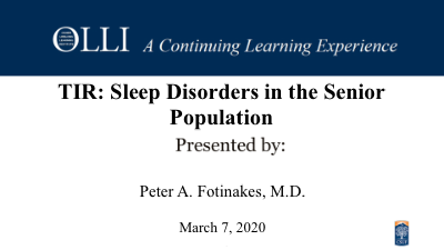 Click here to view Sleep Disorder video