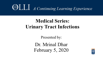 Click here to view the Urinary Tract Infection video