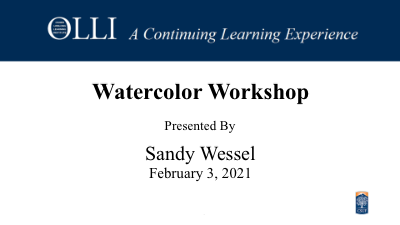 Click here to view Watercolor Workshop